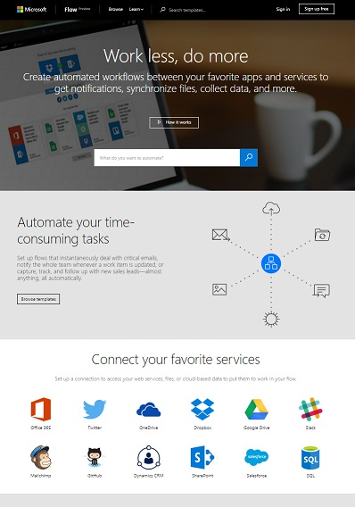 Microsoft Flow : A New Tool to Automate Online Tasks like IFTTT