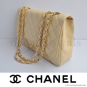 Crown Princess Mary style CHANEL Coco Caviar Bag