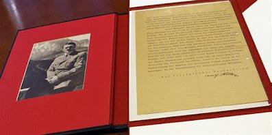 La carta de Hitler que cambió la historia