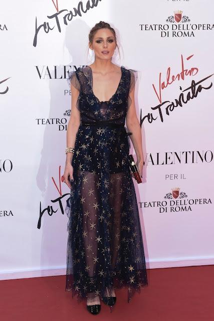 Actress, Model, @ Olivia Palermo - 'La Traviata' Premiere in Rome