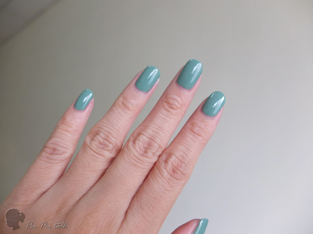 essie-gel couture-beauty nap-試色