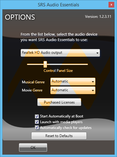 SRS Audio Essentials 1.2.3.12