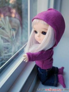 Cute Sad Girl Dolls