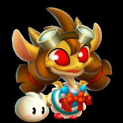 Dragon Dorothée apparence de l'enfant