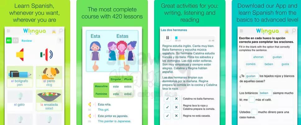 افضل 4 تطبيقات تعلم نطق الاسبانية بشكل صحيح