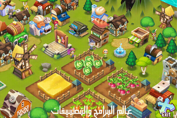 لعبة مغامرات Adventure Town