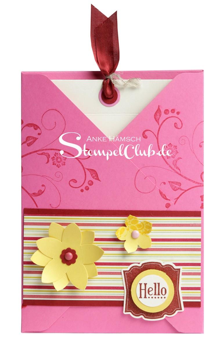 Stampin Up Grußkarte mit Umschlag
