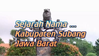 Sejarah Kabupaten Subang, Jawa Barat