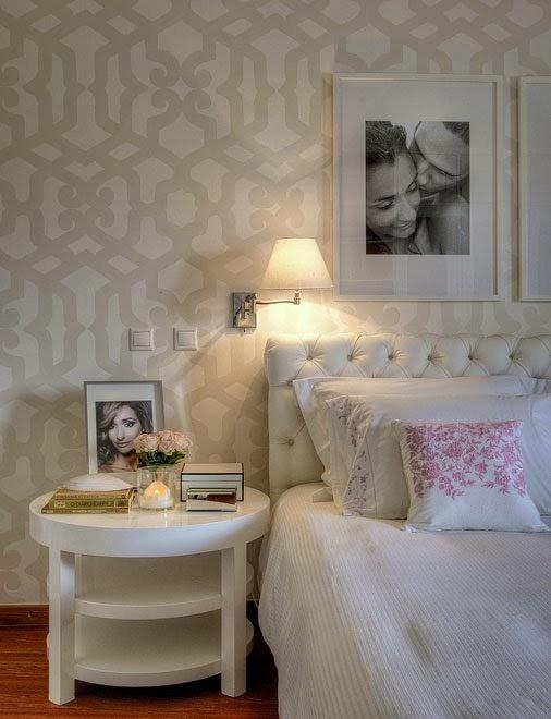 Pastellove: Biała sypialnia
