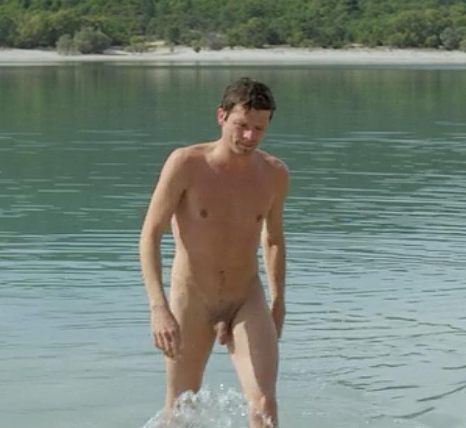Nude Men Lake 30