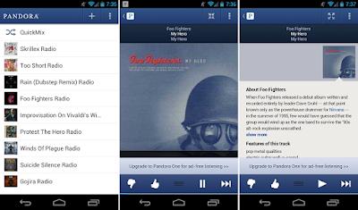 Pandora Radio v6.3 Mod Apk (Unlimited Skips) Full Version