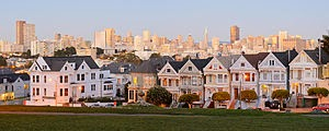 casas vitorianas em San Francisco