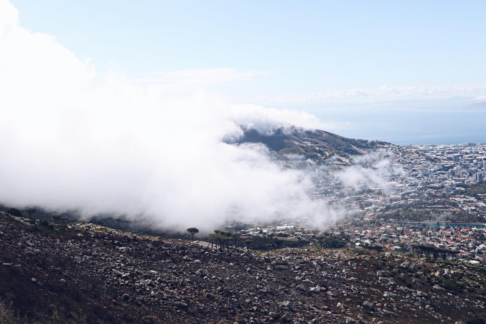 why you need to hike climb table mountain