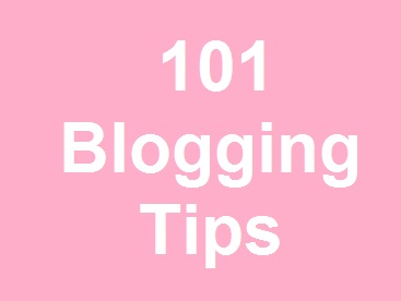 101 blogging tips for seo