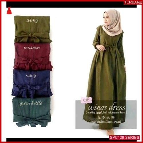 SPC129W30 Wings Dress Terbaru Dress Wanita | BMGShop