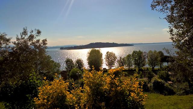 Isola Polvese San Feliciano lago Trasimeno