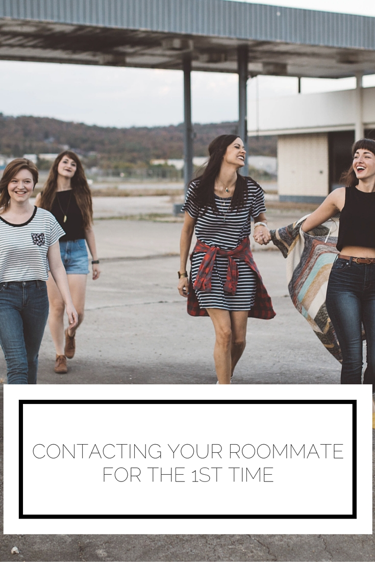 Contacting Your Roommate For The 1st Time