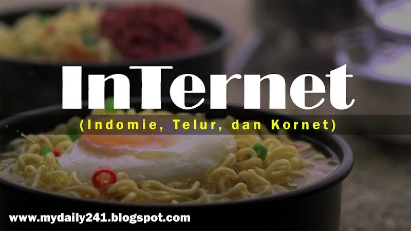 Indomie, Telur, Kornet (InTernet)