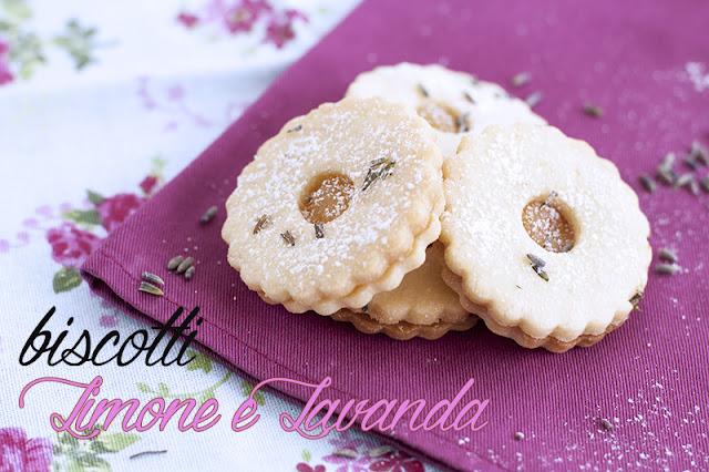 [I love food] Biscotti Limone e Lavanda