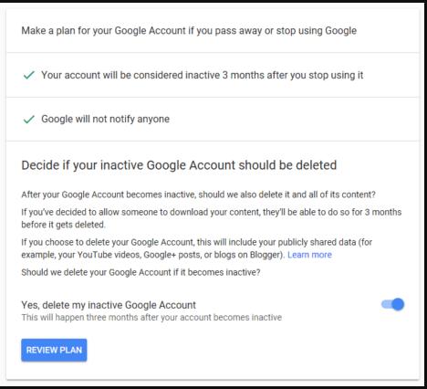 الخطوة الأكثر أهمية لحذف حساب جوجل