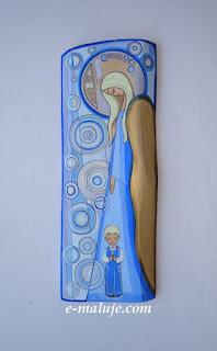 Anioł Stróż Chłopca… Ikona na Opiekę :) Pamiątka Chrztu Świętego