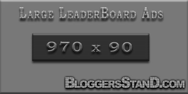 How To Add Large LeaderBoard Adsense Ads Below Header in blogger template