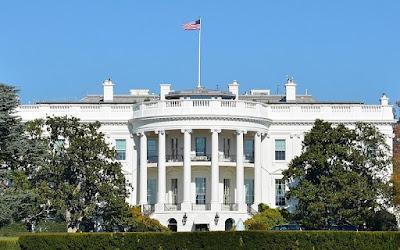 La Casa Blanca, lado sur.