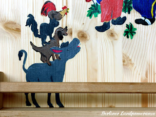 DIY Märchen-Bücherregal Kinderzimmer