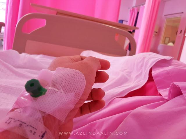 Admitted Hospital Serdang Untuk Ceasarean Yang Ketiga