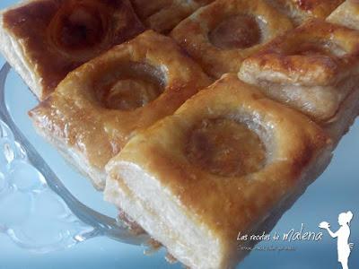 Pasteles de hojaldre de Astorga