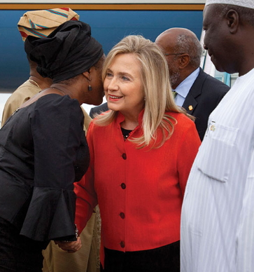 nigerians in america vote hillary clinton