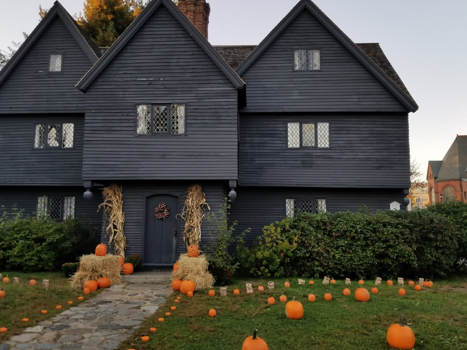 History by the Sea | Salem, Massachusetts: The Witch House ...