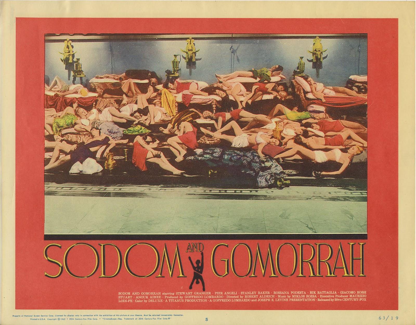 Bad Credit Credit Cards >> Zontar of Venus: Sodom and Gomorrah (1962)