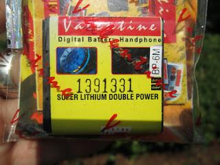 baterai Nokia BP-6M valentine