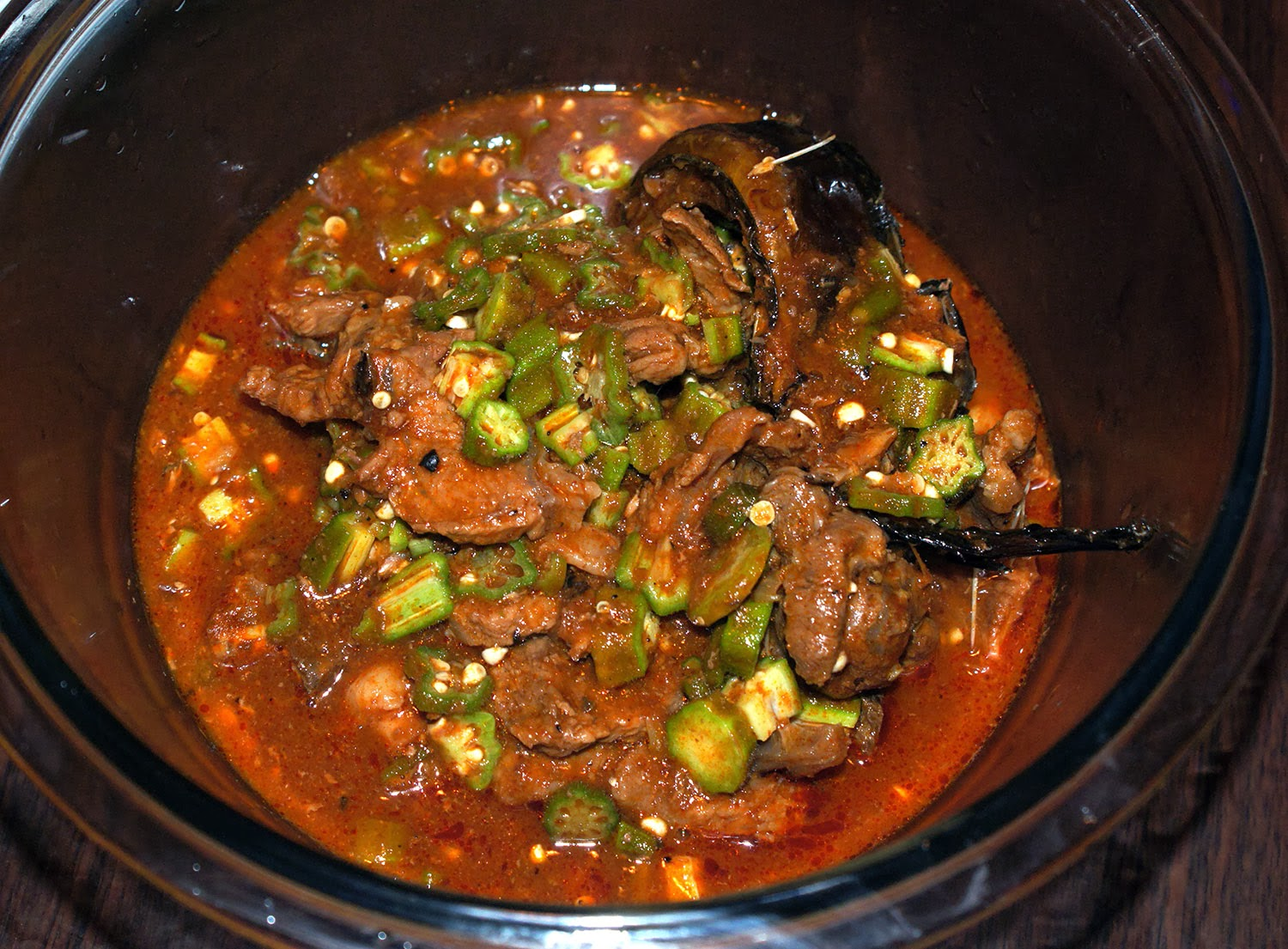 My African Garden Nigerian Tomato And Okra Soup Recipe