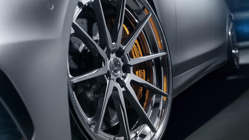 Mercedes AMG S63 with ADV wheels HD