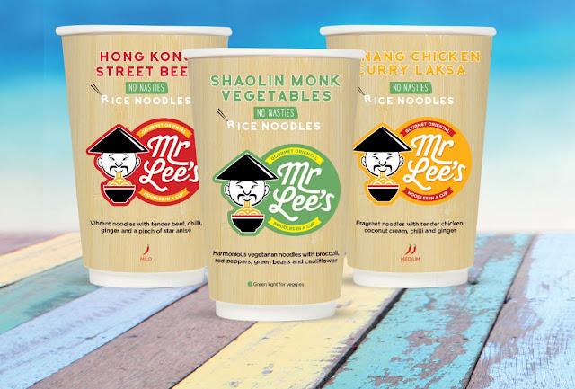 Mr Lee's Shaolin Monk Noodles