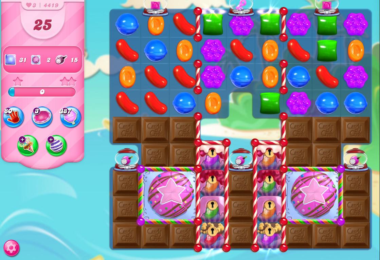 Candy Crush Saga level 4419