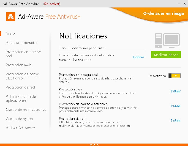 Ad-Aware 11 Total Security - Solo Nuevas