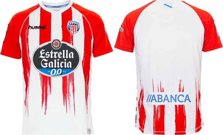 Hummel divulga as novas camisas do CD Lugo - Show de Camisas e658e5fd25369