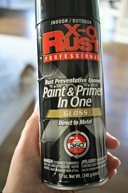 gloss spray paint and primer in one