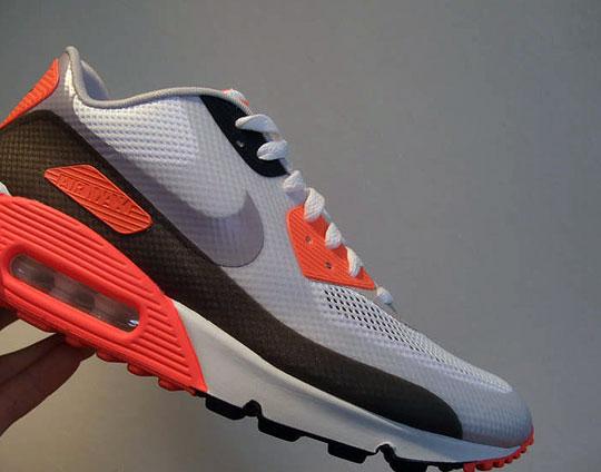 Nike Air Max 90 Hyperfuse 'Infrared' Hannah Louise Fashion