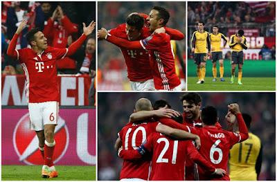 Bayern München golea
