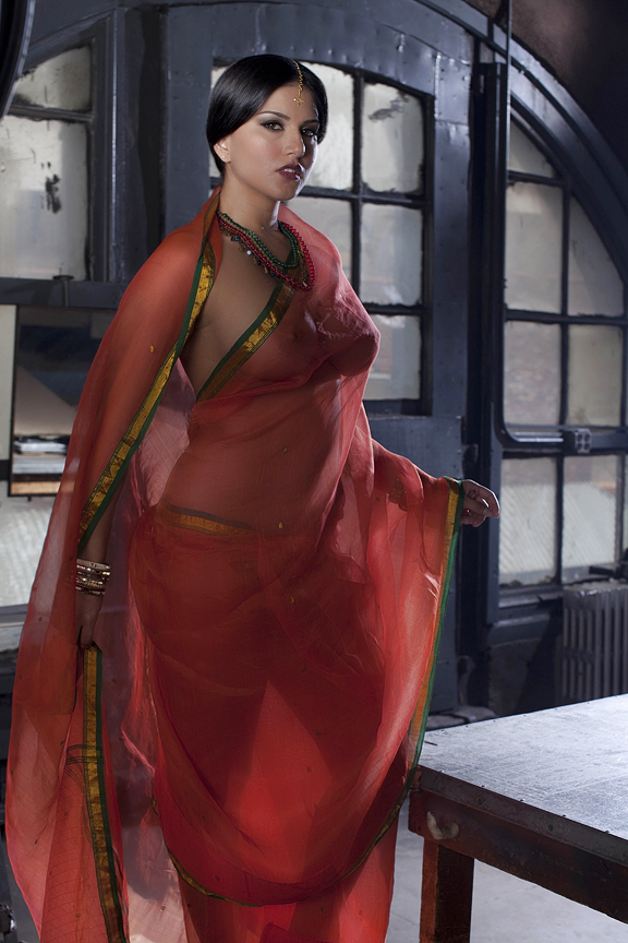 Red saree transgenter nued opinion