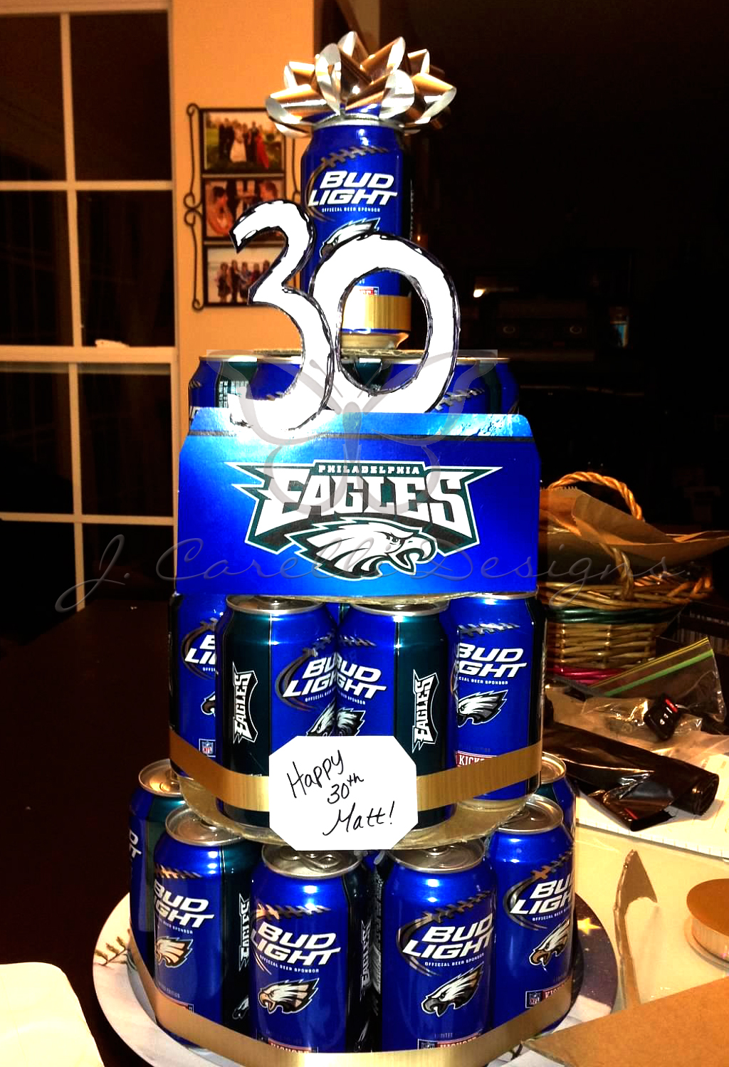 J Carelli Designs Beer Cake