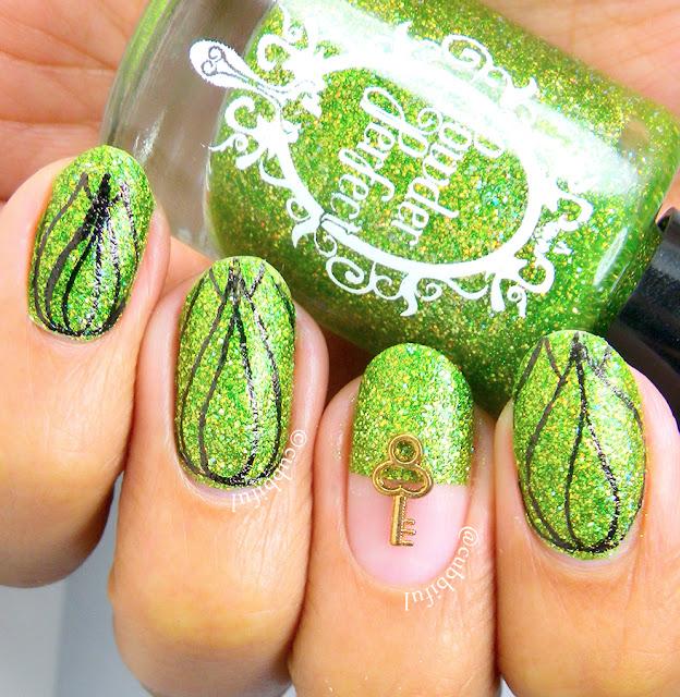 Garden Floral Nails