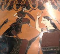 Amphore : Zeus donnant naissance à Athéna