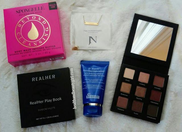 Health And Beauty Girl Fabfitfun Starter Trial Box