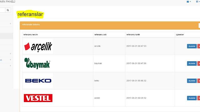 php ile firma sitesi yapımı