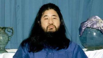 Shoko Asahara, leader of the cult Aum Shinrikyo
